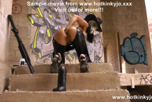 Anal after apocalypse – Extreme huge dong in ass of Hotkinkyjo