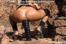 Steampunk girl fuck her ass with Huge anal terrorist at the ruins of old world