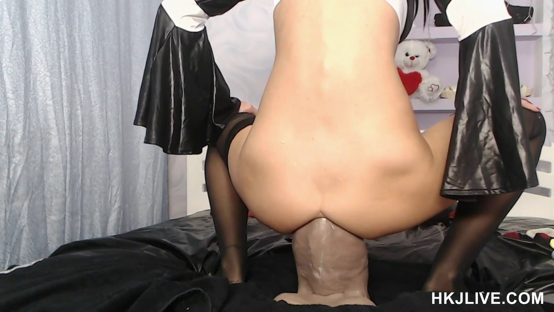 Huge Tits Interracial Anal