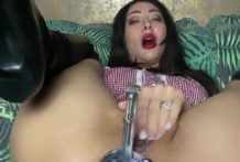 Huge XO speculum open to the max anal hole of Hotkinkjo. Anal fisting & deep anal view!!! HKJFANS